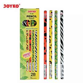 Pencil / pencil joyko p - 99 / 2B / 1Box 12 pcs Free Ongkir
