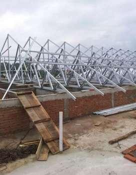servis memasang atap baja ringan ANTI BOCOR