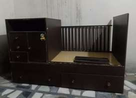 Baby cart with draws