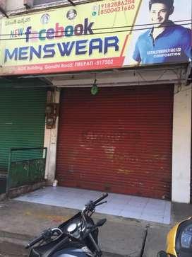 Shop for rent at Gandhi road AGK BUILDING