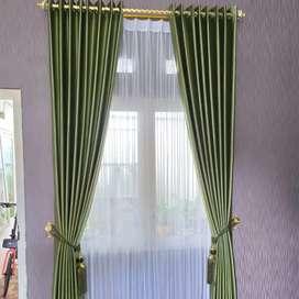 wallpaper dinding custom vitrase hordeng minimalis 6830&