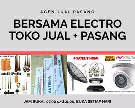 Toko Specialist Pemasangan Antena TV PF HDU Digital
