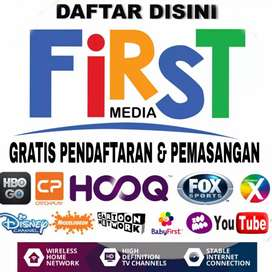 PROMO FIRST MEDIA TERBARU GRATIS PASANG PLUS PROMO 25%-30%