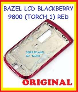Bazel Bezel Middle Tulang Tengah Frame Lcd BB 9800 Torch 1 Original
