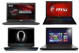 Di TAMPUNG / DI BELI Laptop Bekas Asus Rog , Alienware , MSI, Razer
