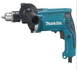 Mesin Makita Drill HP 1630 Bor Tangan Listrik Beton Besi Kayu HP1630