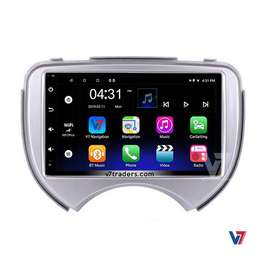 """Nissan March 7"""" Android LCD Touch Panel GPS navigation DVD V7"""