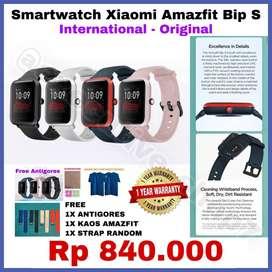 Smartwatch AMAZFIT ORIGINAL Garansi 1 Tahun FREE ANTI GORES & KAOS