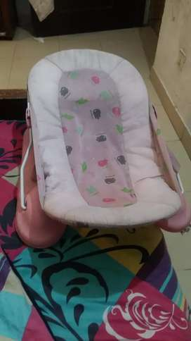 Baby coat and baby bath chair