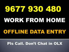 OFFLINE DATA ENTRY Typing Jobs. Earn Money By Home Based Work Join Now