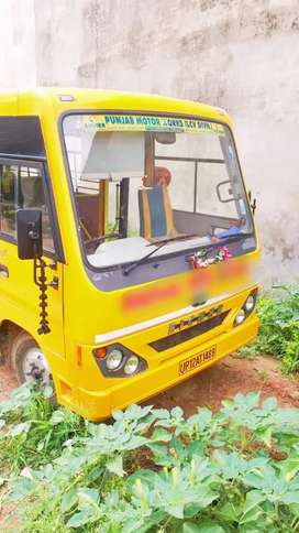 School bus in new condition