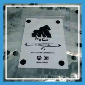 Sablon Tas Plastik Sablon Murah - (BACA DESKRIPSI) - 102257