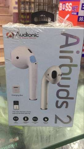 Audionic - AIRBUDS 2 - Wireless Earbuds With Charging Case