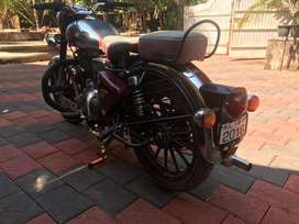 Enfield crome meroon 500 cc