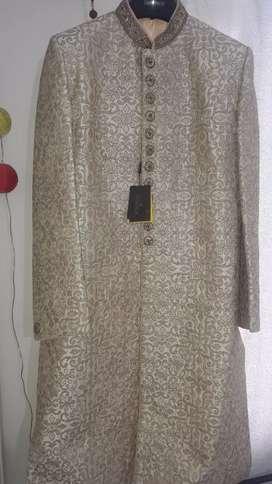 Designer Wedding Sherwani Brand New (size 42)