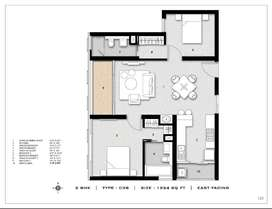 hurry up!few 2 bhk flats for sale with luxurious aminities
