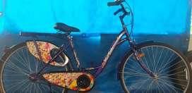 Lady bird MissIndia liya cycle