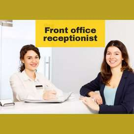 Front office receptionist cum office assistant executive