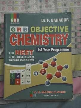 GRB OBJECTIVE CHEMISTRY FOR NEET UG