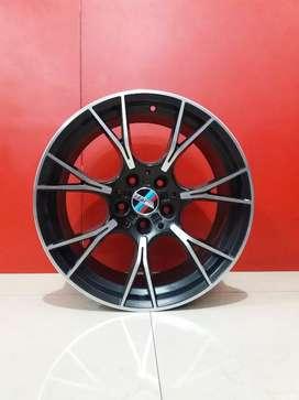 Bisa tukar tambah Velg Ring19x85/95 Pcd 5x100 BMW