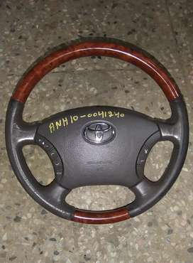 X corolla + prado multimedia wooden steering