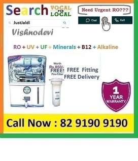 Vishoy RO Water Purifier Water Filter AC TV Cooler DTH 1BHK Fridge Car