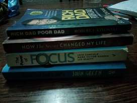Pack of 4 books