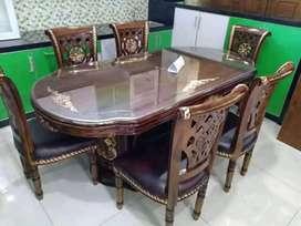 kursi meja makan jati