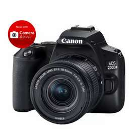 Canon 200d markii 4k camera in new condition with warranty and box
