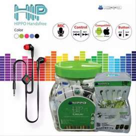EARPHONE HEAD SET HANDSFREE HF HIPPO HIP