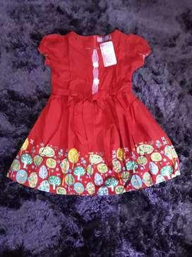 Dress anak brand pingu baju anak