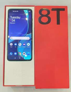 OnePlus 8T 8/128 with 11 warranty available