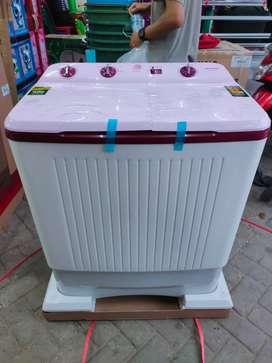 Mesin cuci polytron 2 tabung kapasitas 7 8 & 9 kg