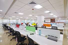 Luxury 40-100 seater cabin well furnished office at vijay nagar