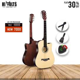 Hi Volts Acoustic Guitar AS08 With Package at 30% OFF
