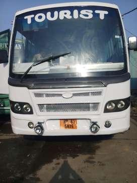2013 model ac bus 37 seater