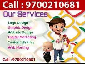 Graphic Logo Website design in Hyderabad