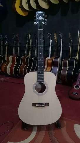 Gitar Akustik Tanam Besi Dalam Stang Murah