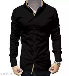 Catalog Name:*Designer Cotton Blend Men's Shirts*