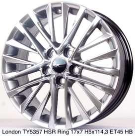 velg mantap LONDON TY5357 HSR R17X7 H5X114,3 ET45 HB