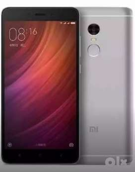 Redmi note 4 (Ram 4 gb 64gb internal)