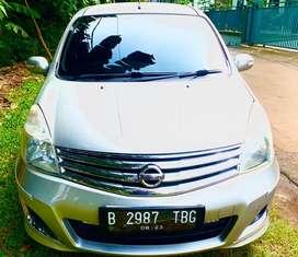 Nissan Grand Livina 1500 CC Th 2013 HWS  Silver Lengkap Ada Bonus