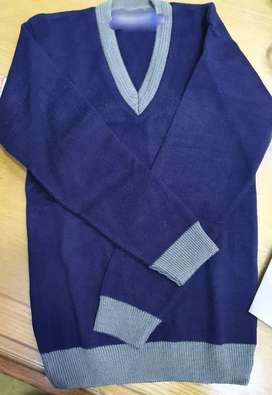 School sweaters Blue with grey minimum 10 pcs @ 300 wholesale rates