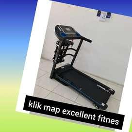 jual treadmill elektrik total TL-619 R-35 treadmil electric