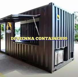 Booth Container untuk segala macam usaha booth semi container custom