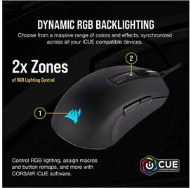 Corsair M55 RGB Pro, 12400 DPI adjustable Gaming Mouse
