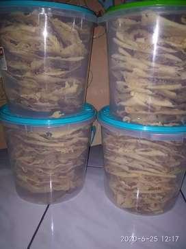 Peyek kacang, kacang ijo, rebon, cabe