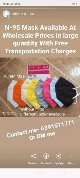 N-95 Mask At Wholesale Prices