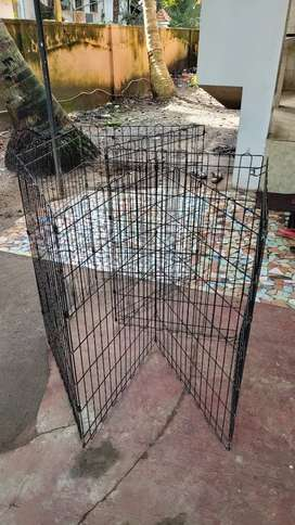 Used pet exercise cage