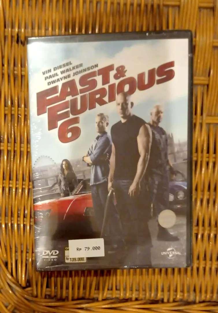 Dvd Original Film Fast & Furious 6 , new/segel